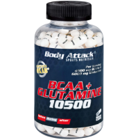 Body Attack Bcaa + Glutamine 180 Tablet