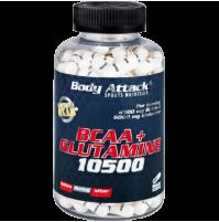 Body Attack Bcaa + Glutamine 180 Tablet