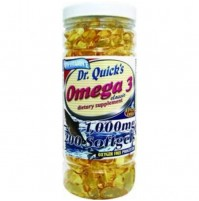 Dr. Quick's Omega 3 1000mg 200 Softjel