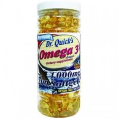 Dr. Quick's Omega 3 1000mg 200 Softjel