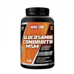 Hardline Glucosamine Chondroitin Msm H.A. 180 Tabl