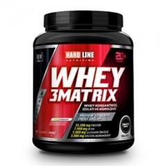 Hardline Whey Protein 3Matrix 908 Gr Çikolata
