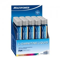 Multipower L-Carnitine Liquid Forte 1800 Mg 20 Amp