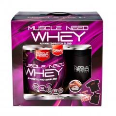 Muscle Need Whey Protein 2270 Gr Çikolata
