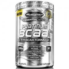 Muscletech Essential Series Platinum %100 BCAA 8:1