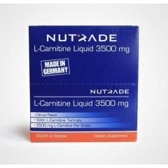 Nutrade L-Carnitine Liquid 3500mg 20 Ampul