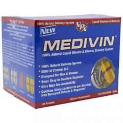 Vpx %100 Natural Medivin Vitamin & Mineral 30 Sıvı