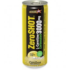 ZeroShot Carbonated L-Carnitine 3000 Mg 250 ml 1 A